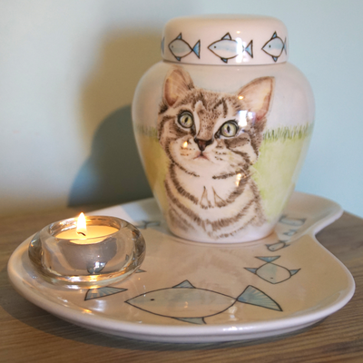 Urnen-voor-katten-Urn-kat-Urnen-voor-Huisdieren-Originele-dierenurnen-keramische-dierenurn-dieren-urnen-kleine-urn-voor-thuis-speciale-dieren-urn-handbeschilderde-dierenurn-Maatwerk-urn-voor-dieren