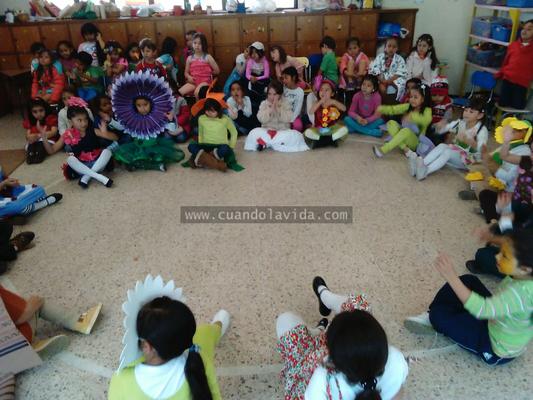 Spring Presentation. Transición B. Colegio Teresiano. 2015