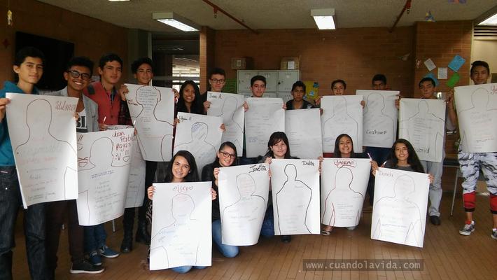 """Taller """"Soy Hércules"""" en Mosquera. Fundación Cavelier junto con la Universidad de la Sabana. 2016"""