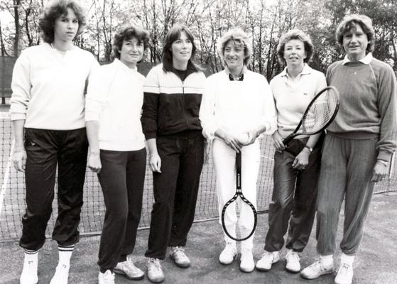 3. Damen-Mannschaft, Bezirksliga A 1981