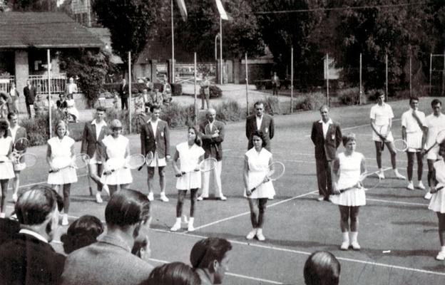 60-jähriges Jubiläum 1957 auf der OTC-Anlage