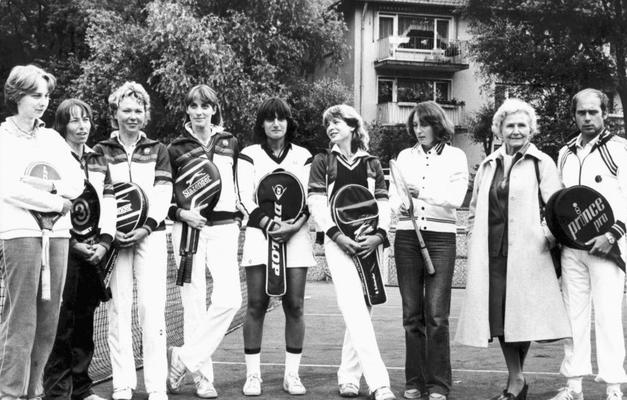 1. Damen-Mannschaft, OTC Hessenmeister 1980 - Aufstieg in die Regionalliga