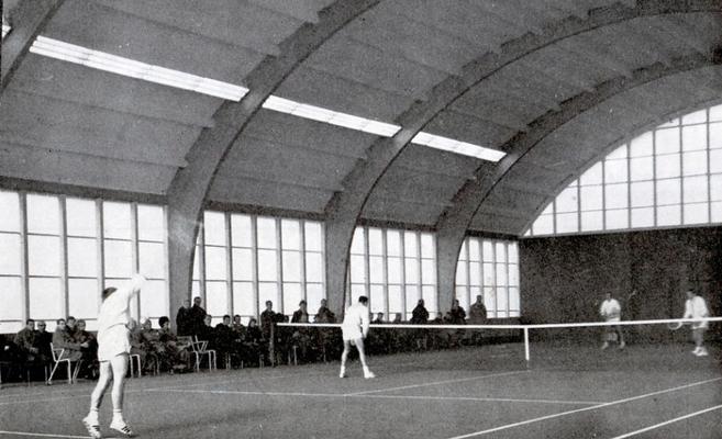 Einweihung unserer Tennishalle am 7. Nov. 1965