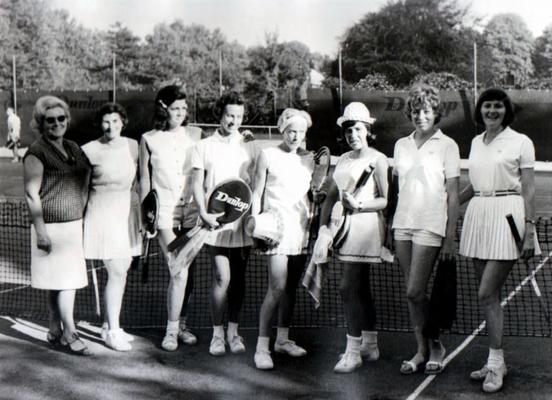 1. Damen Hessischer Vizemeister 1964