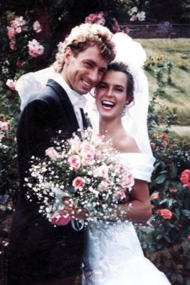 Steve Guy und Hana Adamkova haben sich in OTC gefunden, Hochzeit: 19.12.1991