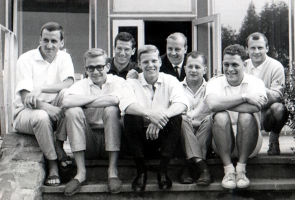 Aufstieg der 3. Herren-Mannschaft in die Hessische A-Klasse 1964