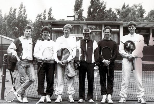 2. Herren-Mannschaft, Oberliga - Aufsteiger des Jahres 1985