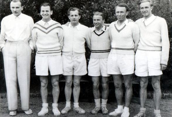3. Platz Hessische Mannschaftsmeisterschaften 1955