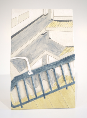 ブライトン大学,2011/235×150mm/陶器/2018
