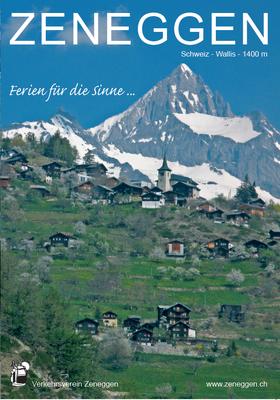 Imageprospekt Zeneggen (Frontseite)