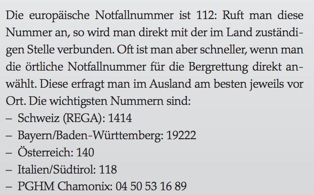 Notfallnummern (http://www.bergpunkt.ch/_data/dokumente/fa_outdoor_wi_06.pdf)