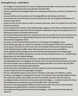 das Wichtigste zum CDU-Beschluss zum Klimaschutz vom 16.9.2019
