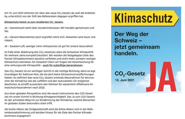 Quelle: https://www.klima-allianz.ch/kampagnen/ja-zum-co2-gesetz/