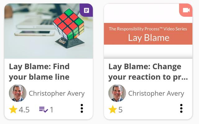 6: Lay Blame