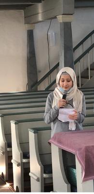 Gottesdienst am Volkstrauertag - SchülerInnen lesen aus dem Buch: Todesursache: Flucht