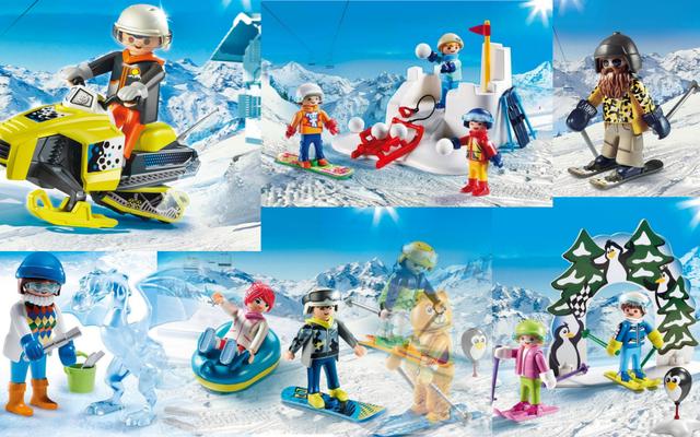 Playmobil - Sports d'hiver