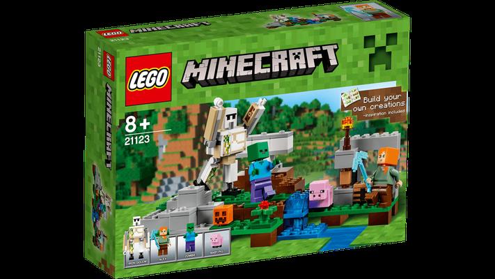 Lego Minecraft - Le golem