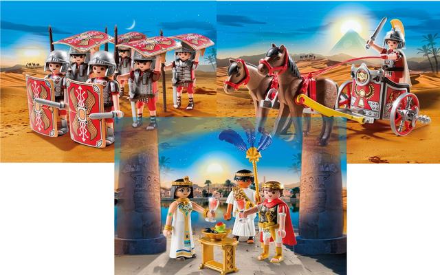 Playmobil - César, Cléopâtre et armée romaine