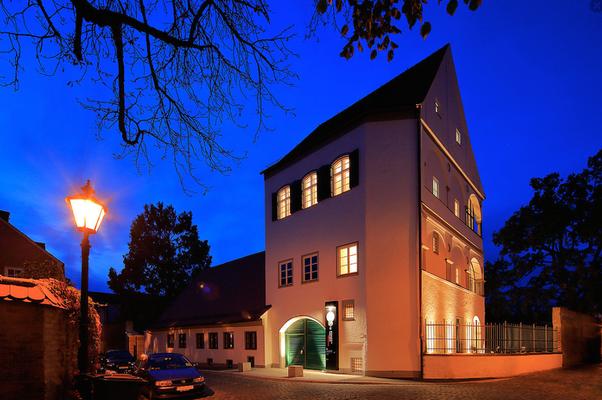 Fugger und Welser Erlebnismuseum - Der Eingang des Museums © Norbert Liesz