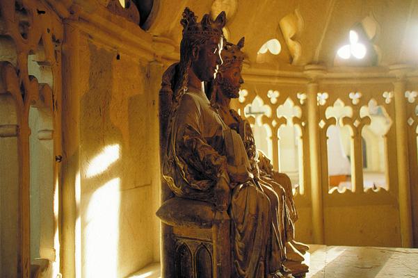 Das Kaiserpaar - Otto I, der Große, und seine Frau Editha im Magdeburger Dom (© IMG Investitions- und Marketinggesellschaft Sachsen-Anhalt mbH)