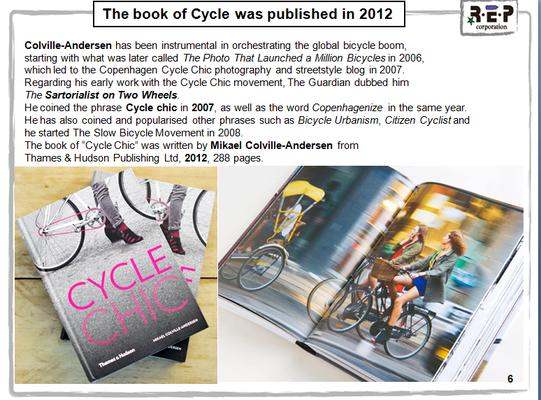 Cycle chicについての書籍