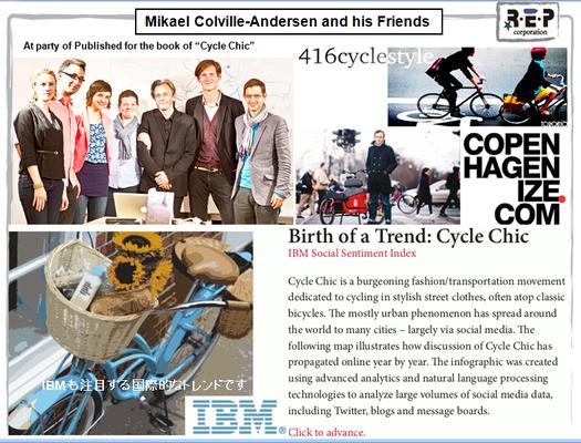 Cycle chic の創設