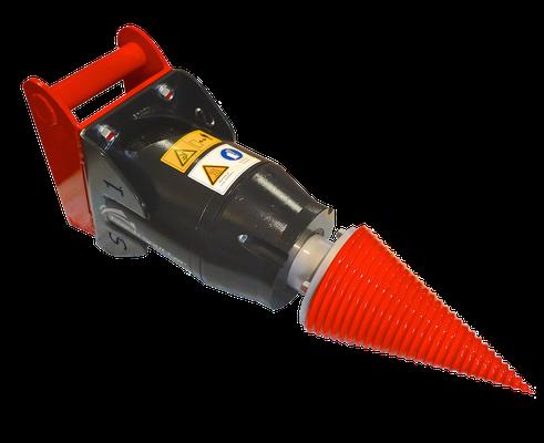 Black Splitter S1 Kegelspalter / Holzspalter / Baggerzubehör / Bagger