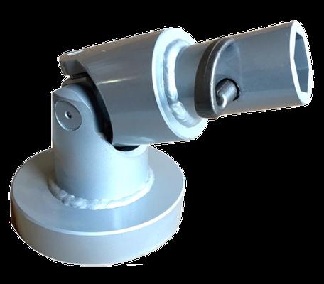 Adapter für Erdbohrer / Black Splitter / Kegelspalter / Bohrer / Baggerzubehör / Bagger
