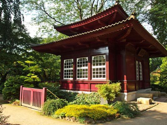Pavillion im Japanischen Garten Leverkusen