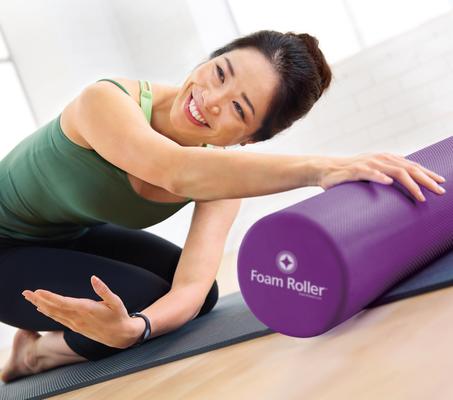 Pilates avec Foam roller