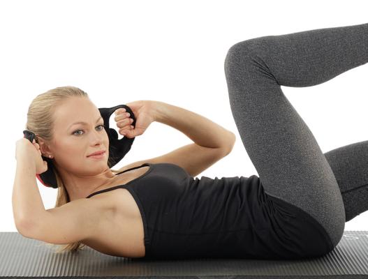Pilates avec Poids légers