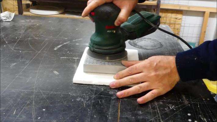 Lichtbeton / Translucent Concrete selber herstellen