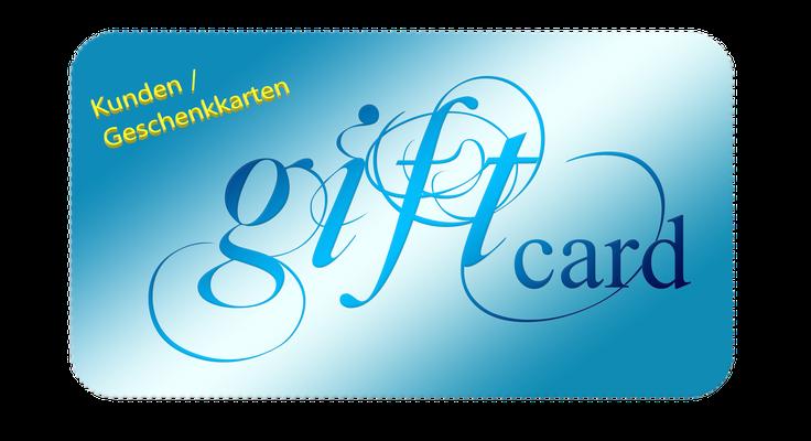 Kundenkarten / Geschenkkarten
