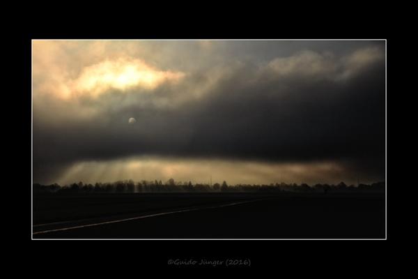 Samstagnachmittag 15:31 - Der Nebel kommt!