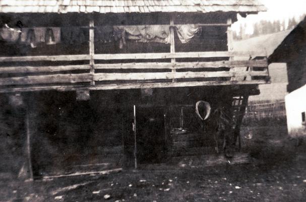 der alte Stall, den es heute nicht mehr gibt