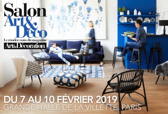 Salon Art & Déco - Grande Halle de la Vilette Paris - du 7 au 10 février 2019