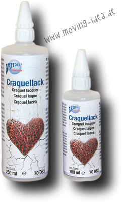 Craquellack für Krakelliereffekte
