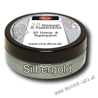 Metallic Stempelfarbe