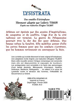 Lysistrata d'Aristophane (libre adaptation de Ludovic TIMON) [4C]