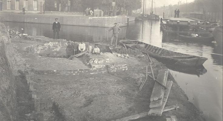 Verwijderen pijnigtoren Leeuwarden (foto HCL_