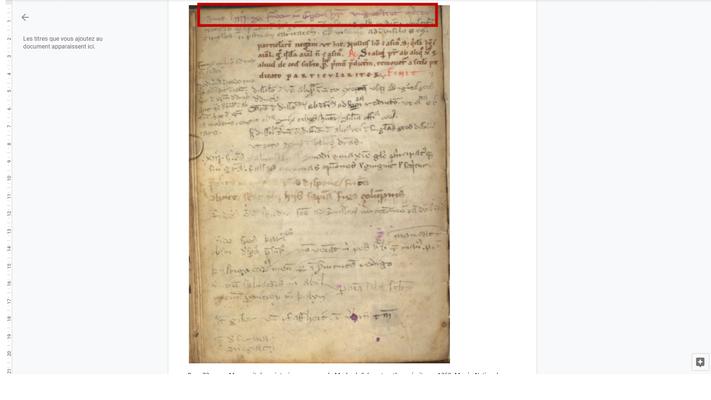 Page 72 verso, Manuscrit du scriptorium commun de Marbach-Schwartzenthann écrit vers 1260, Musée National Germanique de Nuremberg