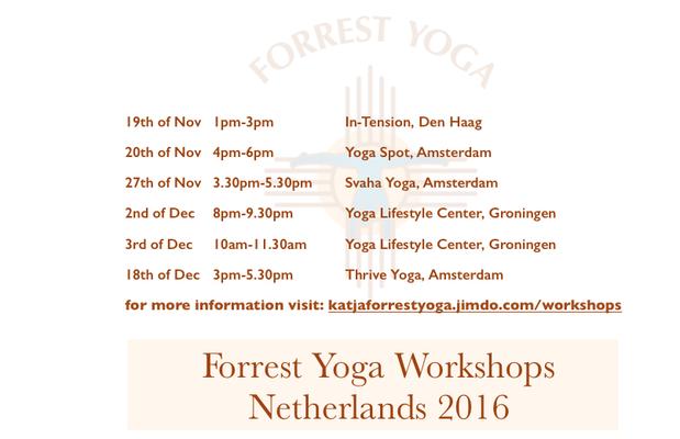 Workshops Netherlands 2016
