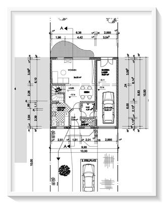 Bauplanung_Bauantrag_Ausführungsplanung_Baiersdorf-Erdgeschossplan