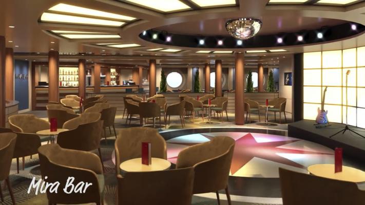 Mira Bar auf AIDAmira |©AIDA Cruises