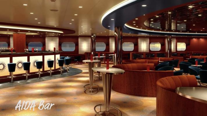 AIDA Bar auf AIDAmira |©AIDA Cruises