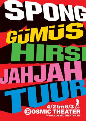 Gümüs, Theater Cosmic - februari 2004
