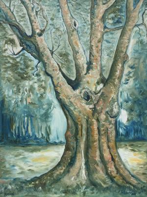 Baum (Öl auf Leinwand)