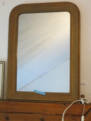 € 90,00 – Spiegel, gut erhalten, vergoldet