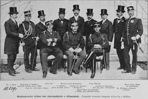 Le CIO en 1896