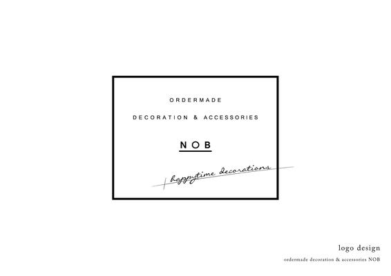 デコレーション&アクセサリーのNOBのロゴ